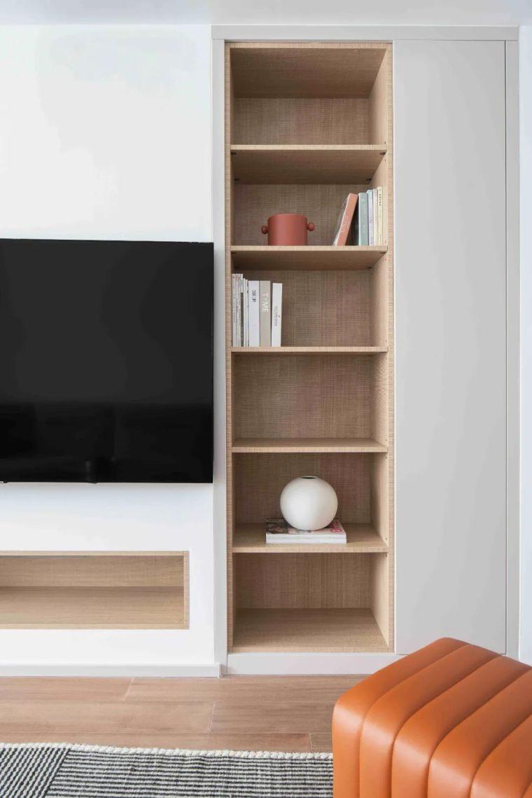 """收纳墙与三大""""空间折叠""""让这个家倍感舒适_12"""