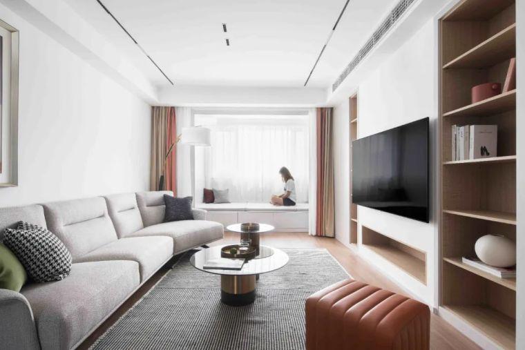 """收纳墙与三大""""空间折叠""""让这个家倍感舒适_10"""