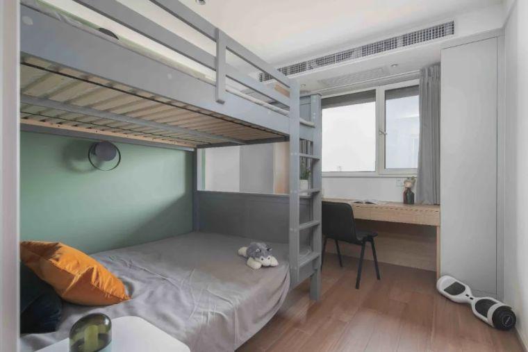"""收纳墙与三大""""空间折叠""""让这个家倍感舒适_24"""