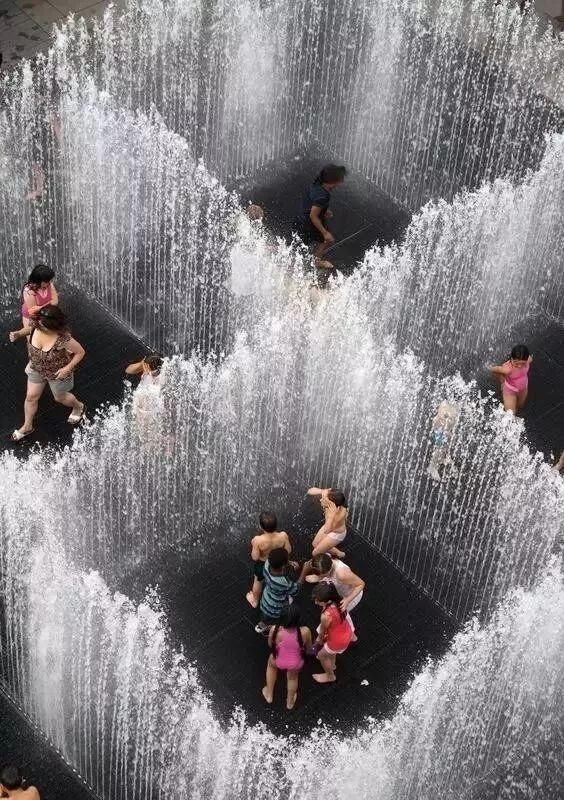 喷泉,景观有趣的存在!_12