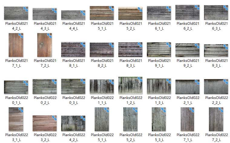 景观软景铺装小品材质贴图220张-木纹贴图2