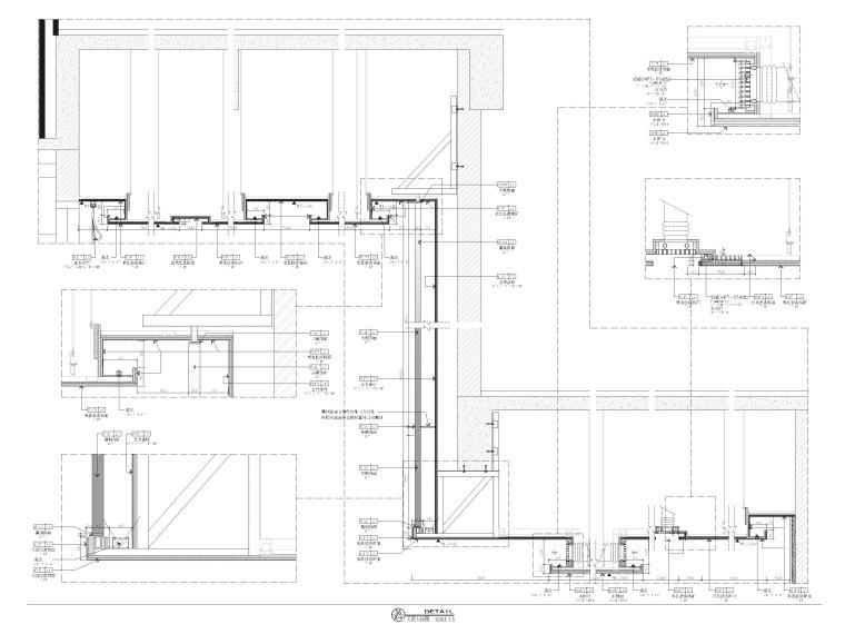 [广西]南宁万枫酒店室内装修设计施工图-节点大样详图2