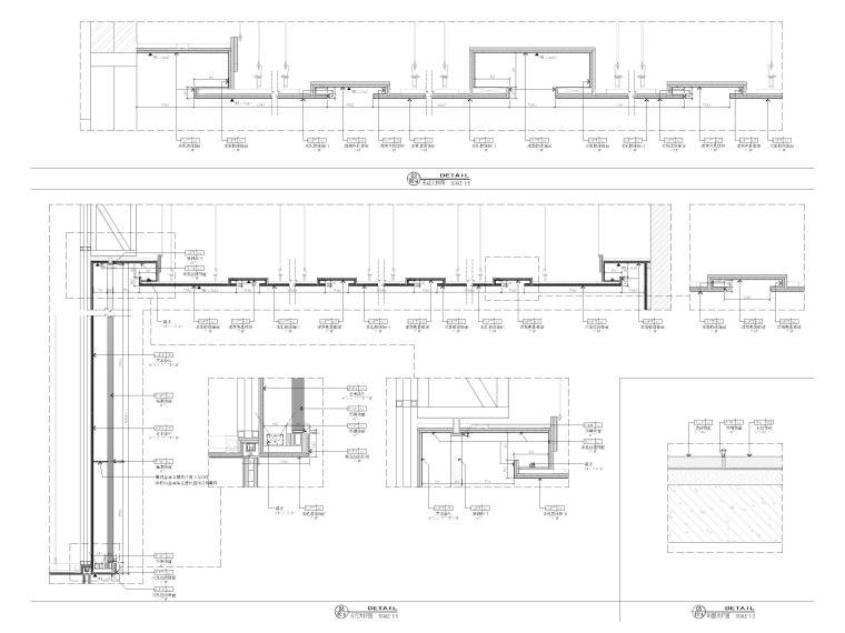 [广西]南宁万枫酒店室内装修设计施工图-节点大样详图