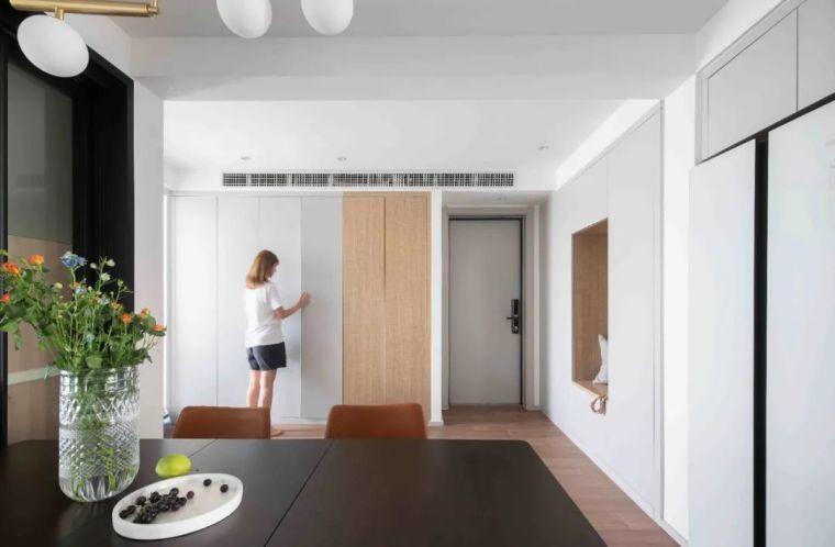 """收纳墙与三大""""空间折叠""""让这个家倍感舒适_1"""