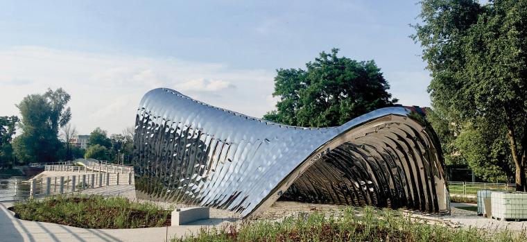 波兰NAWA公共雕塑实景图8