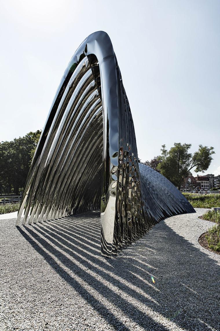 波兰NAWA公共雕塑实景图11