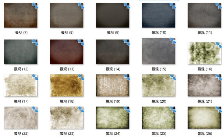 景观软景铺装小品材质贴图220张-污渍纹理贴图