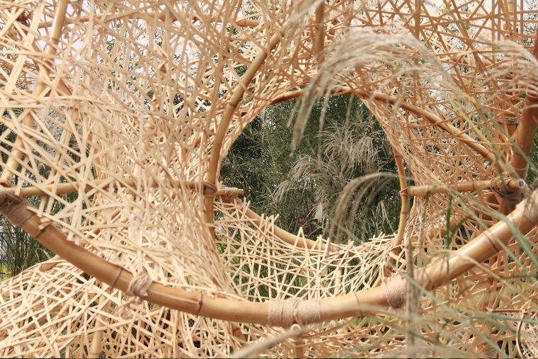 成都第三届北林国际花园建造节竹构装置实景图10