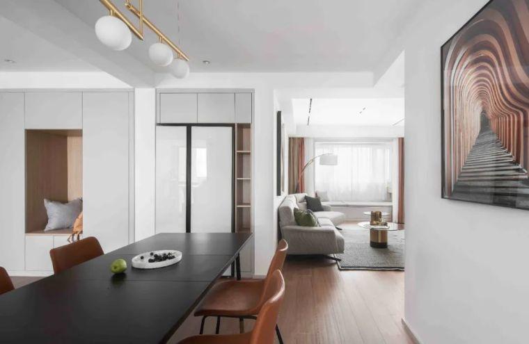 """收纳墙与三大""""空间折叠""""让这个家倍感舒适_4"""