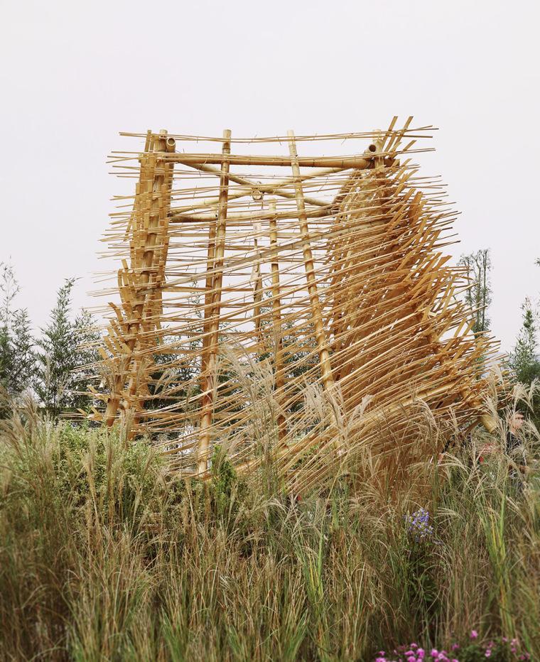 成都第三届北林国际花园建造节竹构装置实景图14