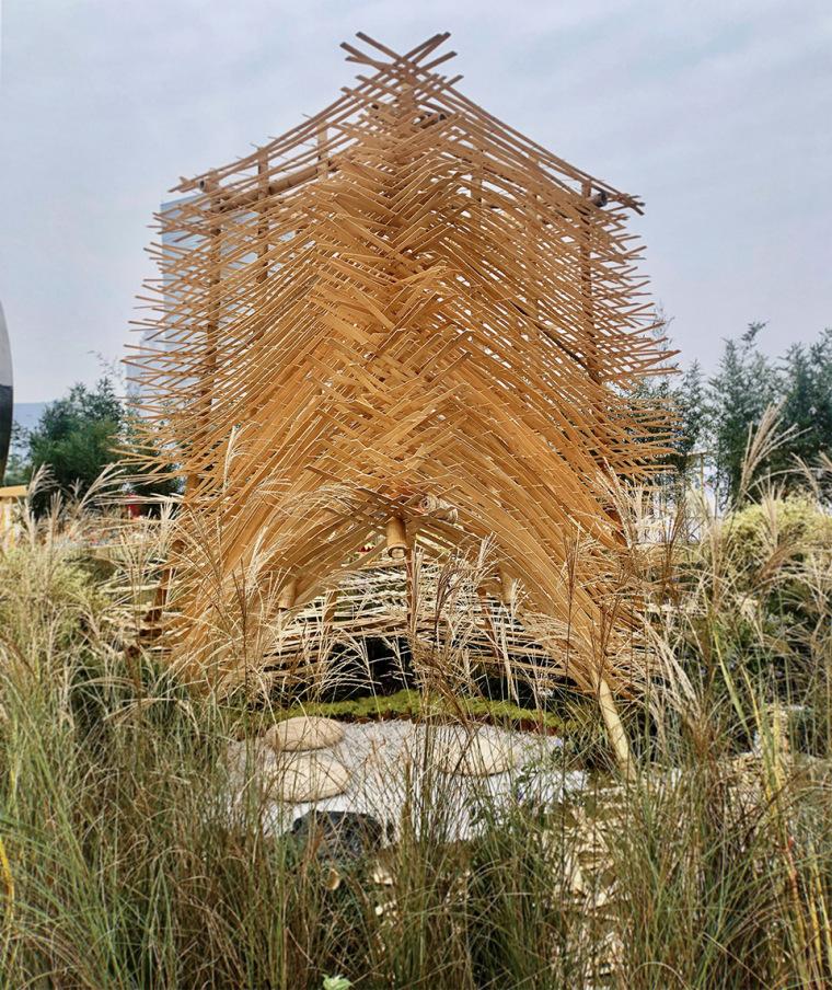 成都第三届北林国际花园建造节竹构装置实景图16