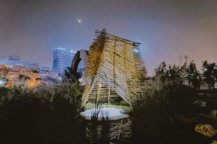 成都第三届北林国际花园建造节竹构装置实景图19