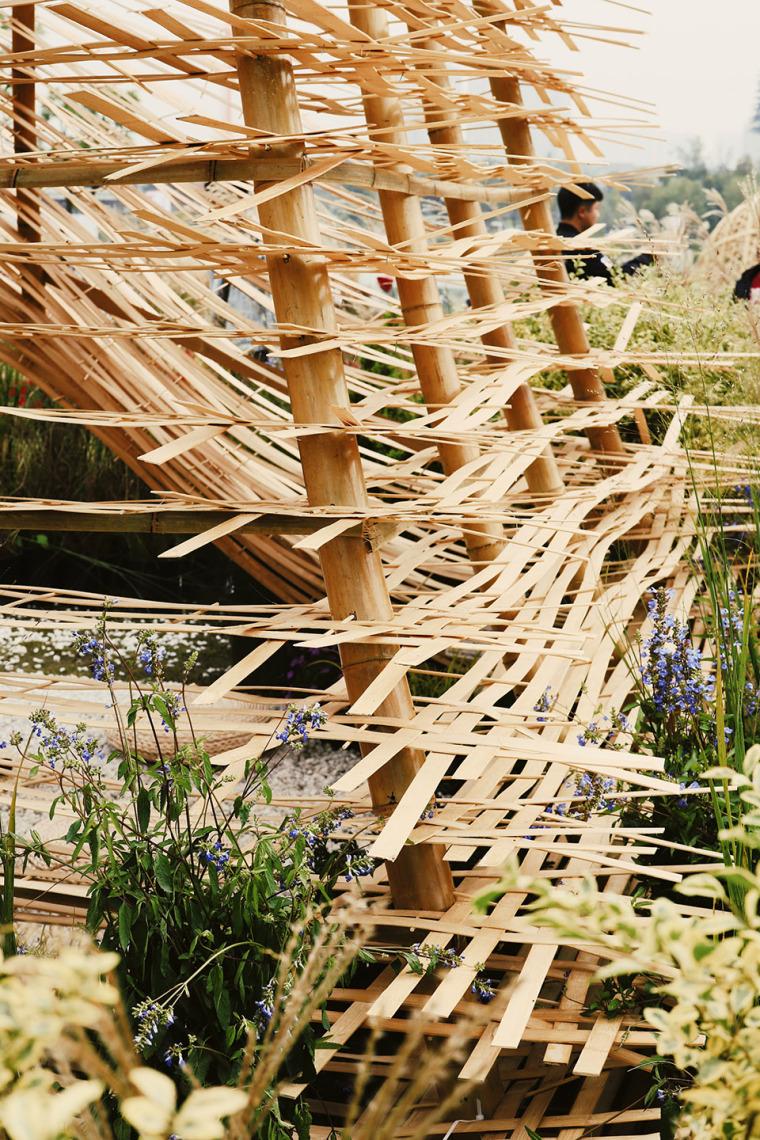 成都第三届北林国际花园建造节竹构装置实景图20