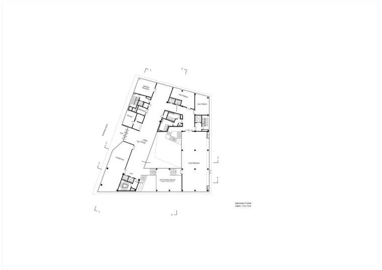 成都金牛区图书馆及外化成中学平面图3
