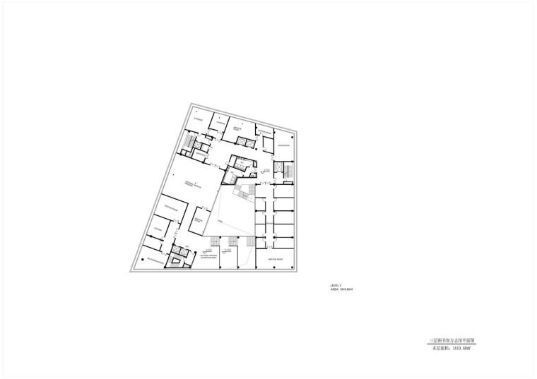 成都金牛区图书馆及外化成中学平面图5