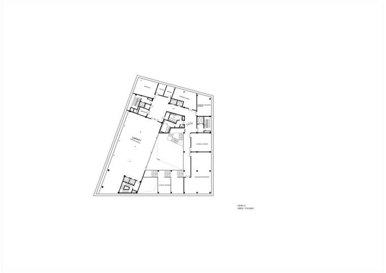 成都金牛区图书馆及外化成中学平面图4