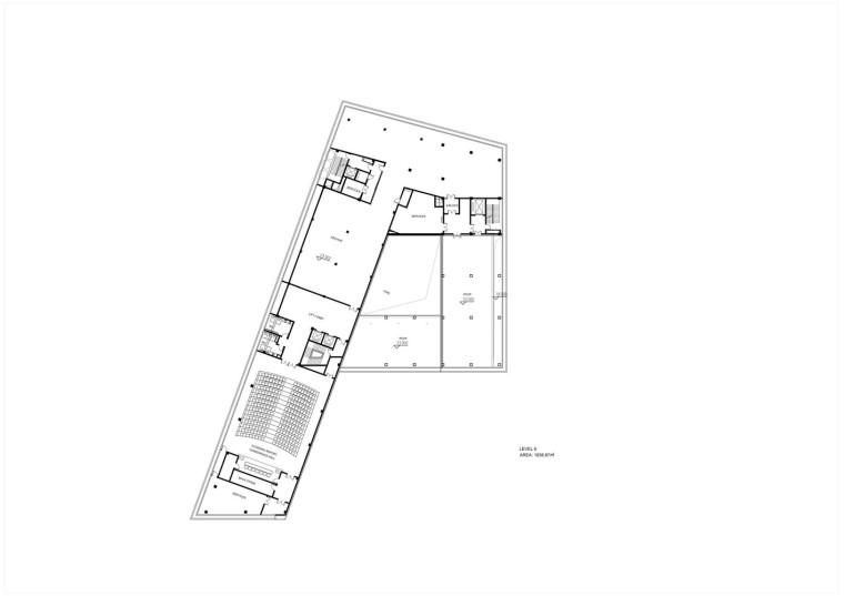 成都金牛区图书馆及外化成中学平面图8