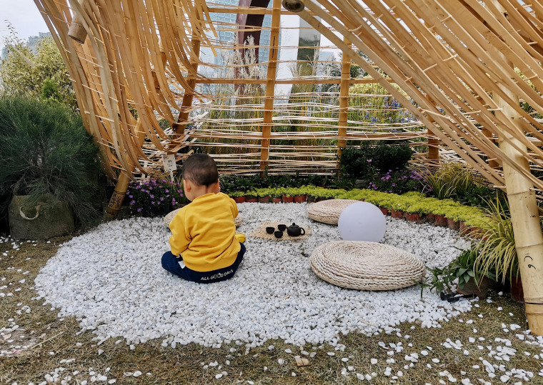 成都第三届北林国际花园建造节竹构装置实景图24