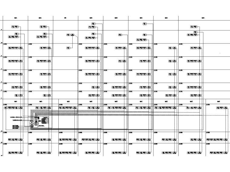 [上海]23万平商业中心电气施工图(强弱电)-6建筑设备自控系统图