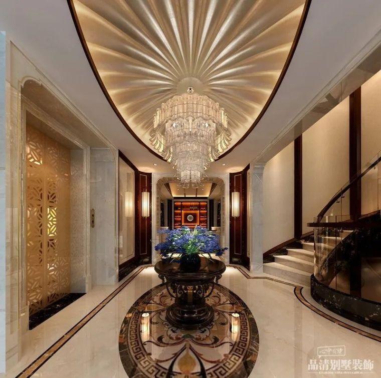 常州别墅装修|新中式风格——时光缱绻,_4