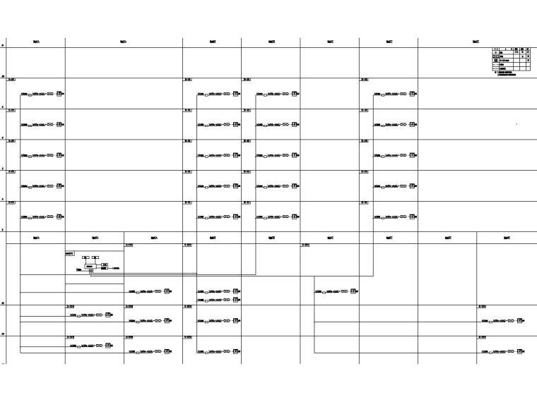 [上海]23万平商业中心电气施工图(强弱电)-9信息发报系统图