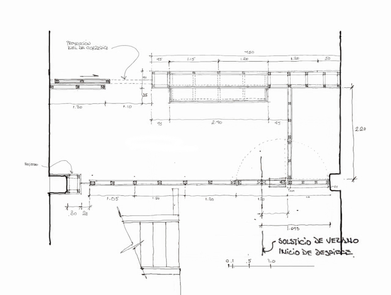 墨西哥DiVeceArquitectos工作室-墨西哥Di Vece Arquitectos工作室平面图