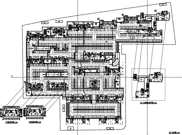 新城杭州商品住宅配套公建报建方案文本2019-地下一层平面图