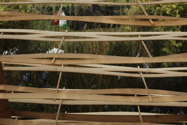成都第三届北林国际花园建造节竹构装置实景图25
