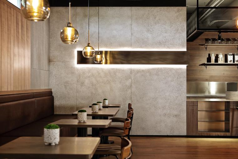 盐城绿地香港盐城咖啡店室内实景图2