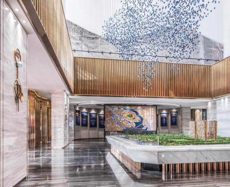 [广州]南沙珠江湾售楼处室内装修设计施工图-2019-01-07-16-29-27