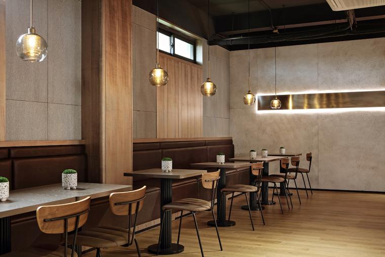 盐城绿地香港盐城咖啡店室内实景图4