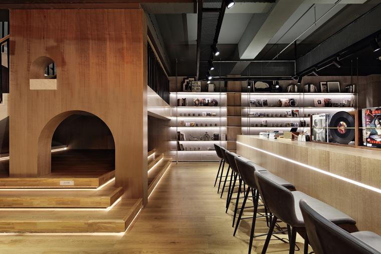 盐城绿地香港盐城咖啡店室内实景图6