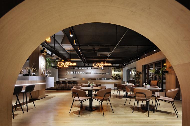 盐城绿地香港盐城咖啡店室内实景图7