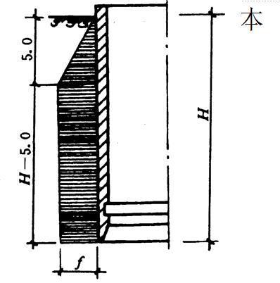 沉井法施工概述-摩擦力分布