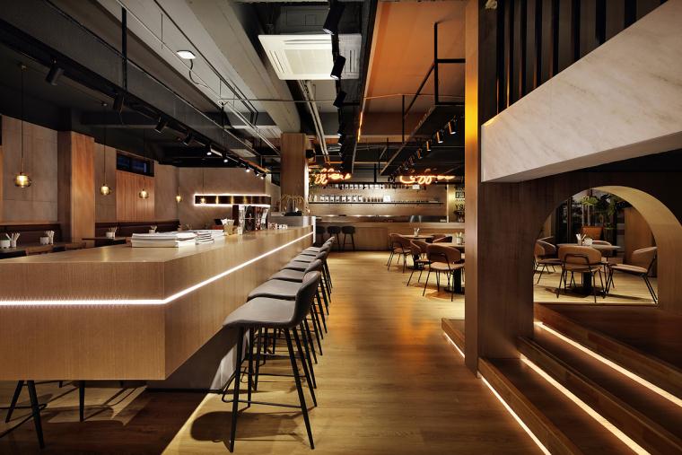 盐城绿地香港盐城咖啡店室内实景图8