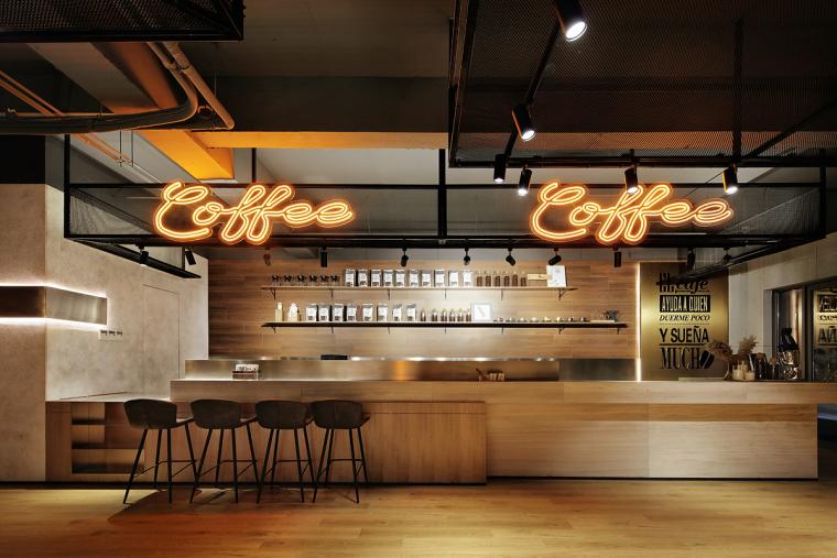 盐城绿地香港盐城咖啡店室内实景图
