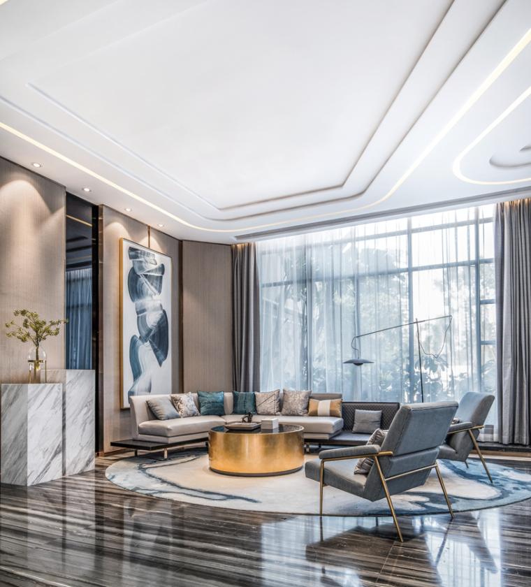 [广州]南沙珠江湾售楼处室内装修设计施工图-2019-01-07-16-29-11