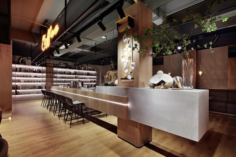 盐城绿地香港盐城咖啡店室内实景图9