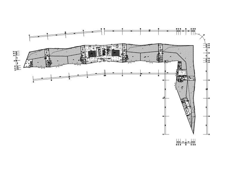 [浙江]四层展览中心电气施工图(2016)-1照明平面图