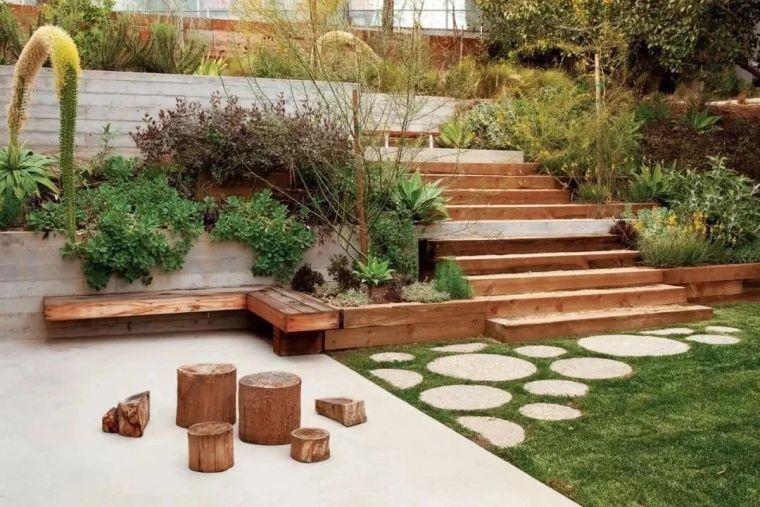 多种低维护的庭院植物景观,值得参考_2