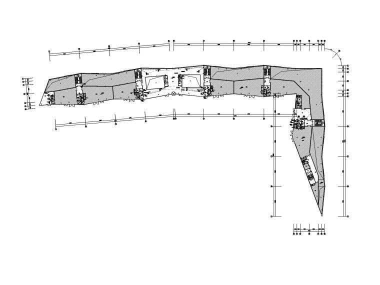 [浙江]四层展览中心电气施工图(2016)-2插座平面图