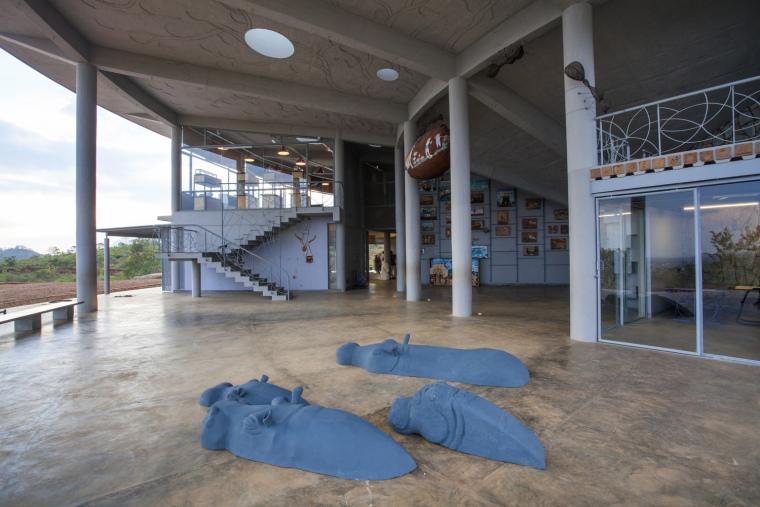 印度Agastya国际基金会的艺术与创新中心外部实景图7
