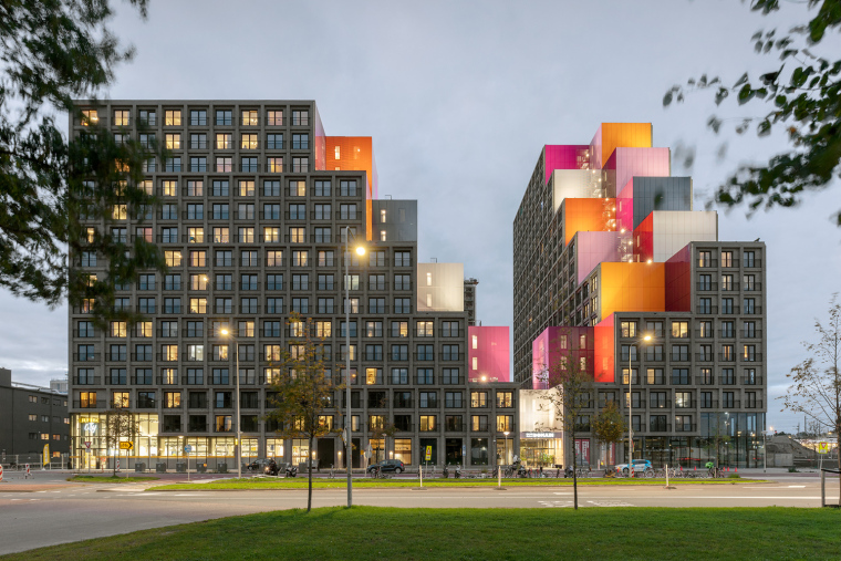 荷兰OurDomain学生公寓外部实景图6