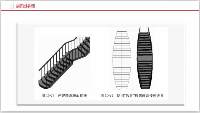 工业设计研究院BIM知识精讲三(209页)-编辑楼梯