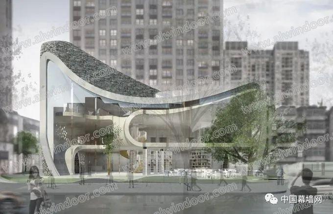 被动式公共建筑外立面幕墙的设计要点_2