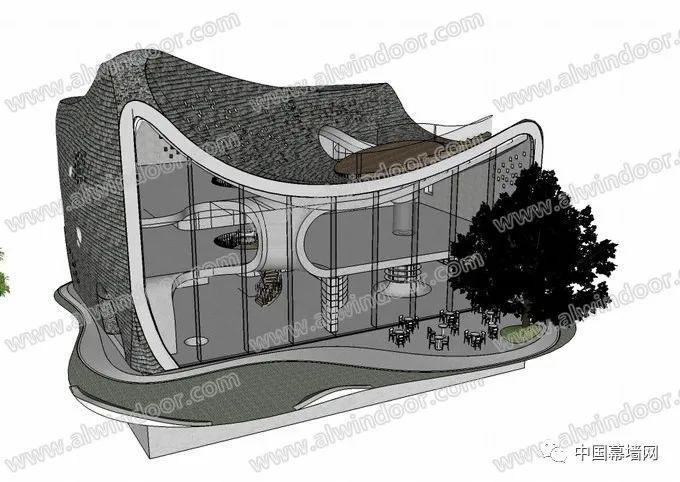 被动式公共建筑外立面幕墙的设计要点_4