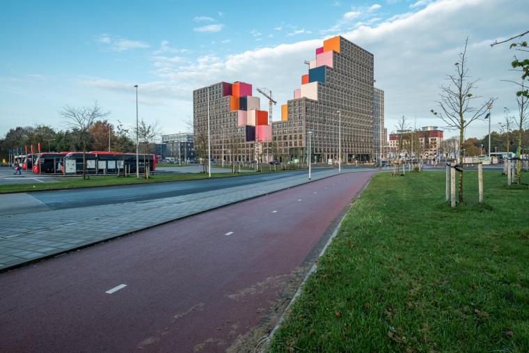 荷兰OurDomain学生公寓外部实景图10
