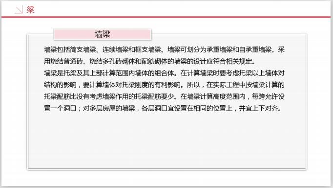 工业设计研究院BIM知识精讲三(209页)-墙梁