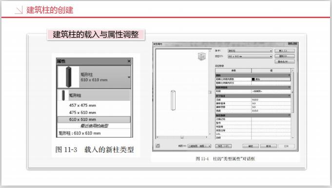 工业设计研究院BIM知识精讲三(209页)-建筑柱的载入与属性