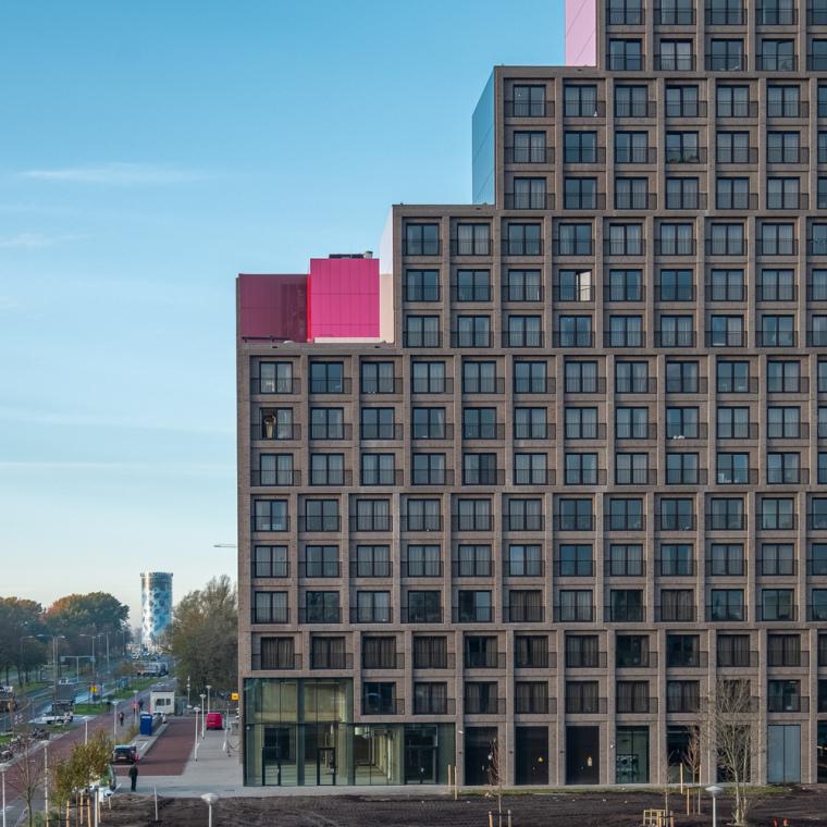 荷兰OurDomain学生公寓外部实景图12
